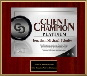 Client Champion Award Platinum 2018